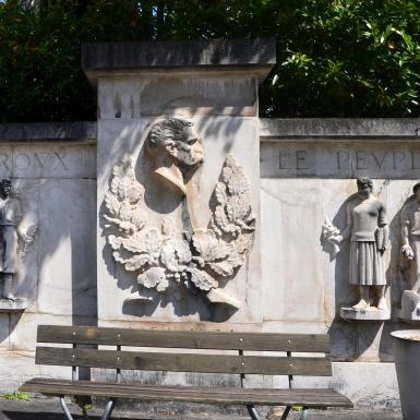 Monument en hommage au Dr César Roux, à Lausanne