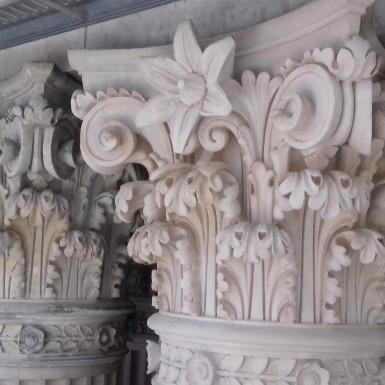 Interventions sur chapiteaux corinthiens, Grand Théâtre de Genève