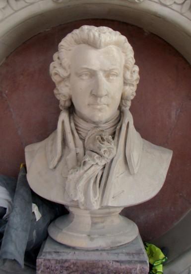 Buste de Mozart, Grand Théâtre de Genève