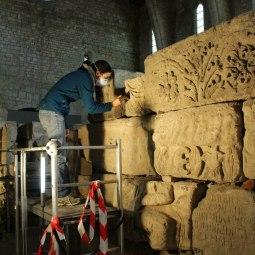 Collection lapidaire, église de Lamourguier de Narbonne