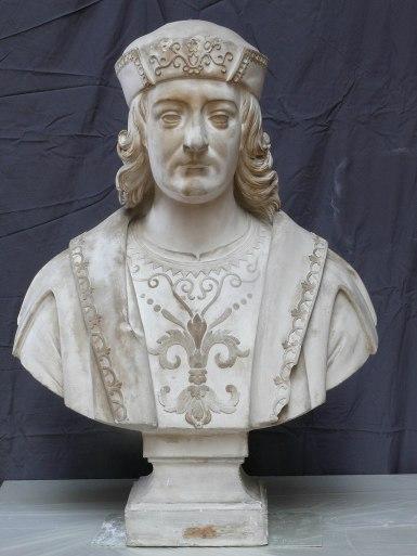 Portrait d'officier, Galerie des Batailles, château de Versailles