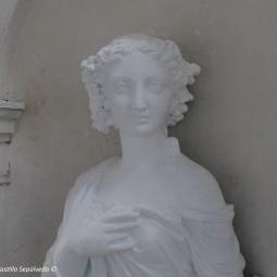 Sculpture de l'Automne, après intervention.